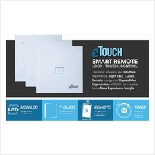 Smart Home Glass Touch Light Switch with Remote ~ Branded E-Touch