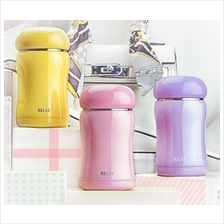 210ml Cute Sweet Stainless Steel Thermos Water Bottle Cup Travel Size