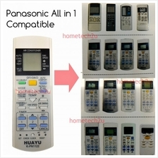 Huayu All In 1 Panasonic Air Conditioner Remote Control Replacement