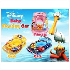 DISNEY BABY FLOATING CAR C/W FREE STEPON PUMP