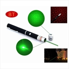 2016 Star Cap High Power Laser Pointer Pen 2in1 5mw Powerful Laser