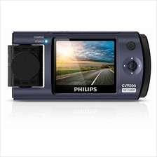 PHILIPS CVR300 - Car Driving Video Recorder with Rotating Lens Full HD
