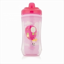 Dr. Brown''s 10oz/300ml Hard-Sprout Insulated Cup (Pink) 1 PCS