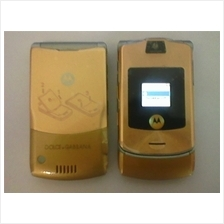 Motorola RAZR V3i Dolce and Gabana Limited Edition (Gold Colour)