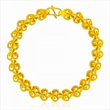 YOUNIQ Premium Heart 24K Gold Plated Bracelet