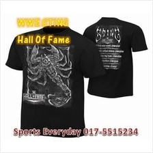 WWE WWF T Shirt Sting Hall Of Fame Baju WRESTLING GUSTI
