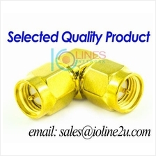 SMA Male to SMA Male Joint adapter Gender Changer 90 degree L type