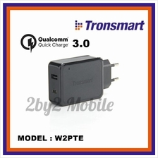 Tronsmart W2PTE Type-C Quick Charger 3.0 Dual Ports Rapid Wall Charger