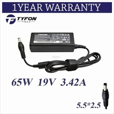 Toshiba Compatible Laptop Notebook Power AC DC Adapter 65W 19V 4.74A Charger
