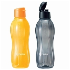 Tupperware Eco Bottle Flip Top (2) 1.0 L - Yellow & Black