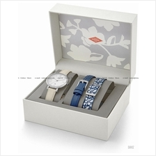 FOSSIL ES4020SET Women's Jacqueline Date Leather Box Set