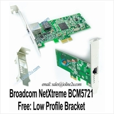 Broadcom BCM5721 Gigabit PCIe Server Network Card Boot Rom Low Profile PXE EXS