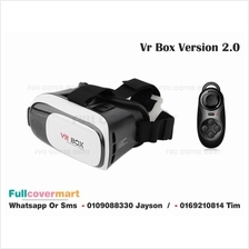 VR Box Ver 2.0 And Rechargeable Bluetooth Controller Virtual Reality