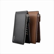 BAELLERRY 16 CARD HOLDER DOUBLE ZIP MENS WALLETS -  A0122
