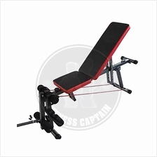 Fitness Gym Adjustable Abs And Dumbbell Bench with Leg Extension