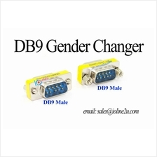 DB9 9 pin male male mini gender changer RS232 RS422 RS485