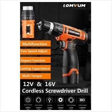 18V Rechargeable Cordless Electric Drill Driver DCTOOLS