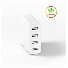 Original Xiaomi 4-port USB Fast Charger - Free Universal Adapter