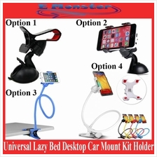 Universal Lazy Bed Desktop Car Mount Kit Holder Tablet for Phone iPad