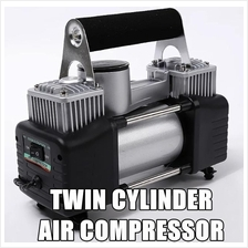Car Lorry Twin Cylinder Air Compressor Air Pump 12V DC