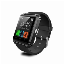 Evatronic U8 UWatch Bluetooth Android Touch Screen Smart Watch - Black