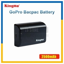 KingMa 2500mAh External BacPac Battery for Gopro Hero 3+ 4