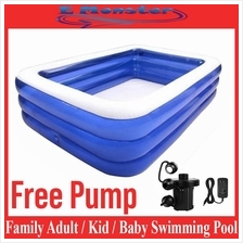 Lechin Family Adult / Kid / Baby Swimming Pool Size : S. M. L. XL