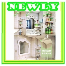 Multipurpose Free Punch Bathroom Corner Shower Shelves K809