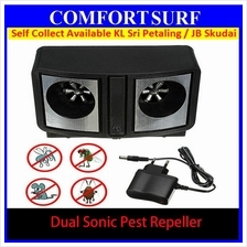 Dual Sonic Pest Repeller Anti Mice Rats Roaches Flies Control