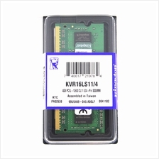 Kingston 4GB DDR3L 1600MHZ Low Voltage Notebook RAM PC3L-12800 - KVR16