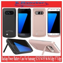 Samsung Galaxy S2 S3 S4 S5 S6 S7 Edge Backup Power Battery Case Cover