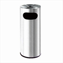 Ground Dustbin with Stainless Steel,Round Type