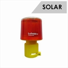 Solar Powered Emergency LED Strobe Warning Light Waterproof Wireless S