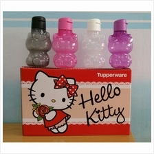 100% Original Tupperware Hello Kitty Eco Bottle 425ml - 1 UNIT