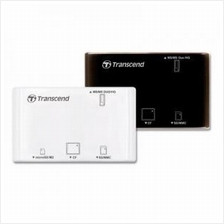 Transcend All in1 Multi USB2.0 Card Reader - RDP8 (Supports CF Cards)