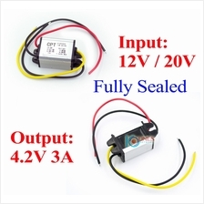 12V 9V 15V 8-16V DC to 4.2V 3A 15W power converter step down regulator Buck IP