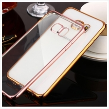 Samsung Note 5 4 3 J5 J7 Redmi 3 Iphone 7 Plated Frame TPU Case Cover