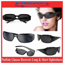 PINHOLE GLASSES EXERCISE MYOPIA Natural Healing Vison Eyesight Care