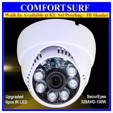 CCTV SecurEyes AHD 1.3MP Upgraded 6pcs IR Array Indoor Dome Camera