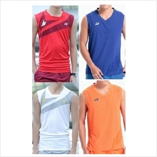 Men Badminton sleeveless Top jersey (zhh)