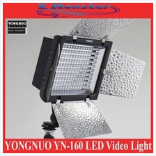 YONGNUO YN160 YN-160 LED Video Light Canon Nikon SLR Camera Camcorder