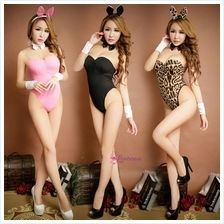 Sexy Bunny Teddies Lingerie Cosplay Nightwear L1049 (3 colours)