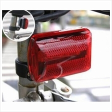 5 LED PLASTIC Bicycle Tail Light Rear Lamp Accessory MTB BIKE