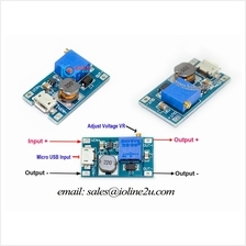 2A DC-DC Step Up Power Supply Board Booster Micro USB In 2v-24v Out 5V/9/12V/2