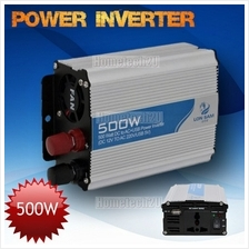 Lon Sam Car Power Inverter 500 Watt DC 12V to AC 220V +USB 5V