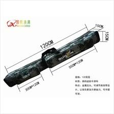 183 - Double Layers Fishing Rods Bag 120cm