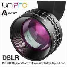 AUKEY 2X HD Telescopic Clip-on Barlow Optic Pro Lens for Phone