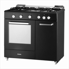 Elba Gas Cooker 4 Burners with Gas Oven EGC-C9784E(BK)