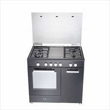 Elba Gas Cooker 4 Burners with Gas Oven EGC-C9704G (Stainless Steel)