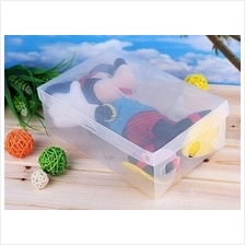 Multipurpose Transparent Shoe Box / Storage Box / Office Use
